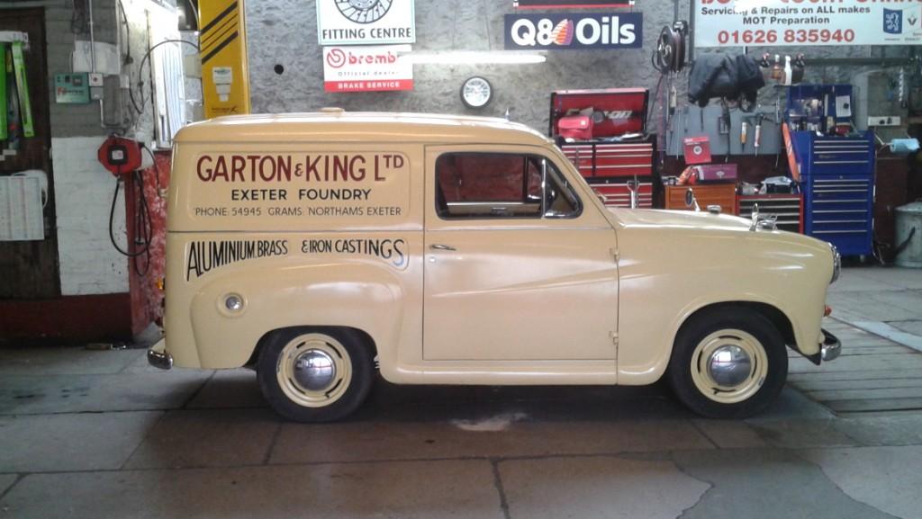 Garton And King Austin Van
